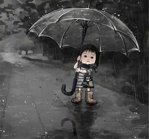 Không đành lòng bỏ rơi con, mỗi lần phải đi xa đều cảm thấy rất buồn.