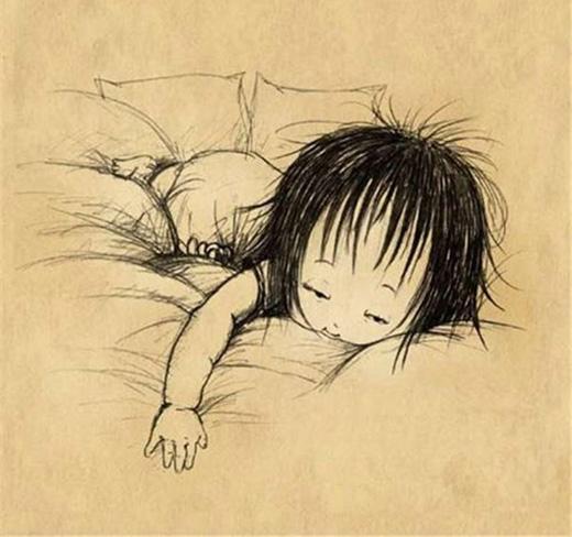Con ngái ngủ là khoảnh khắc đẹp nhất trên đời.