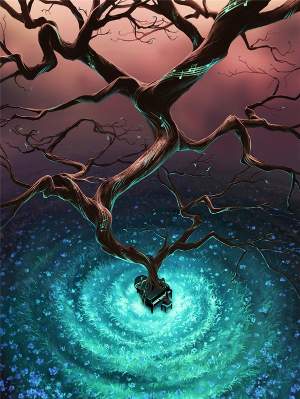 Âm nhạc cũng giống như cơn mưa mát lành cho tâm hồn, càng tưới nó càng lớn và mạnh mẽ.
