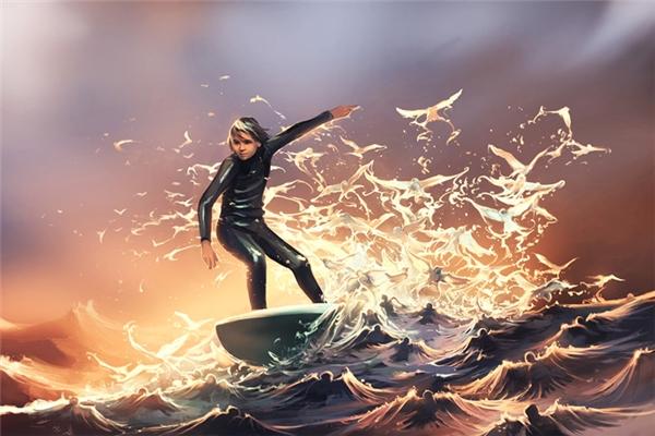 Đừng để những cơn ác mộng nhấn chìm bạn. Hãy dũng cảm đương đầu với nó, cưỡi lên những con sóng sợ hãi, vượt qua mọi giông bão của cuộc đời và tung cánh bay trên bầu trời tự do.