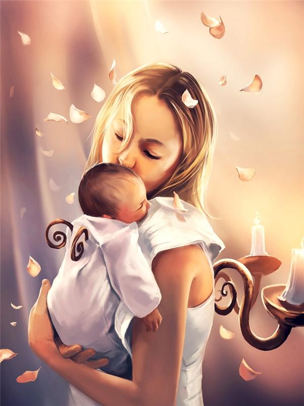 Tâm hồn của những đứa trẻ được nuôi dưỡng từ sự yêu thương và chở che.