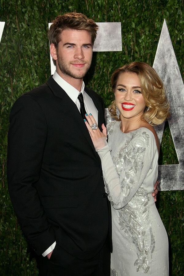 Hiện tại, Miley và Liam vẫn chưa phản hồi về tin đồn bí mật kết hôn. (Ảnh: Dailymail).