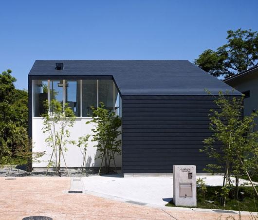 Những ngôi nhà này thường rất hòa hợp với thiên nhiên.