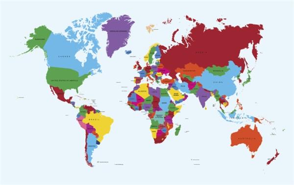 #10 Trở lại với Trái đất, bạn có nhận ra rằng tất cả những bản đồ thế giới bạn từng thấy đều sai hết không? (Ảnh: BuzzFeed)