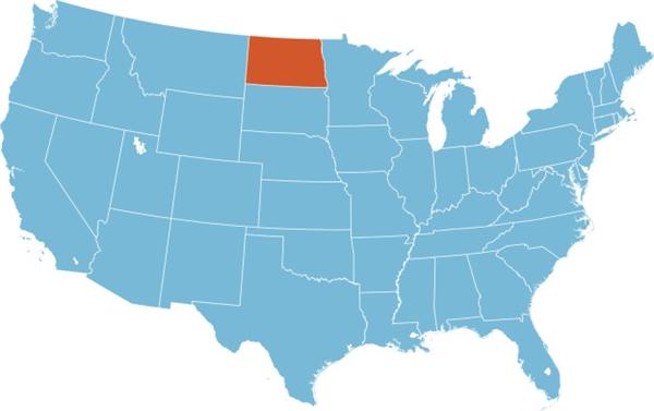 #16 Tiếng Đức là ngôn ngữ thông dụng thứ hai sau tiếng Anh ở bang Bắc Dakota. (Ảnh: BuzzFeed)