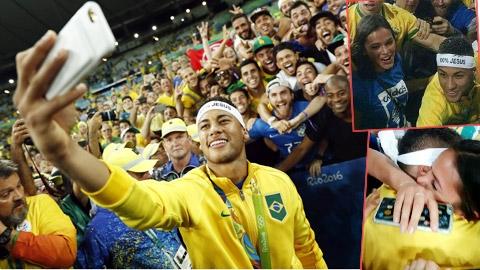 Bạn gái cũ Neymar đốt mắt dân tình với hình ảnh siêu phỏng tay
