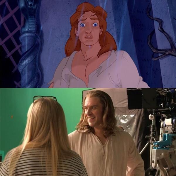 Giờ đây, hình ảnh hoàng tử/quái vật điển trai không khác trong nguyên tác khiến nhiều fan thích thú mong ngóng bộ phim hơn bao giờ hết.