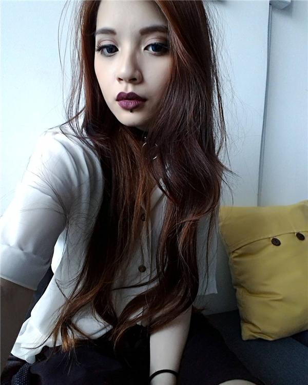 Xinh đẹp, cá tính và đầy hoài bão, cô nàng ước mơ sẽ trở thành một nhà thiết kế thời trang thành đạt.(Ảnh: NVCC)