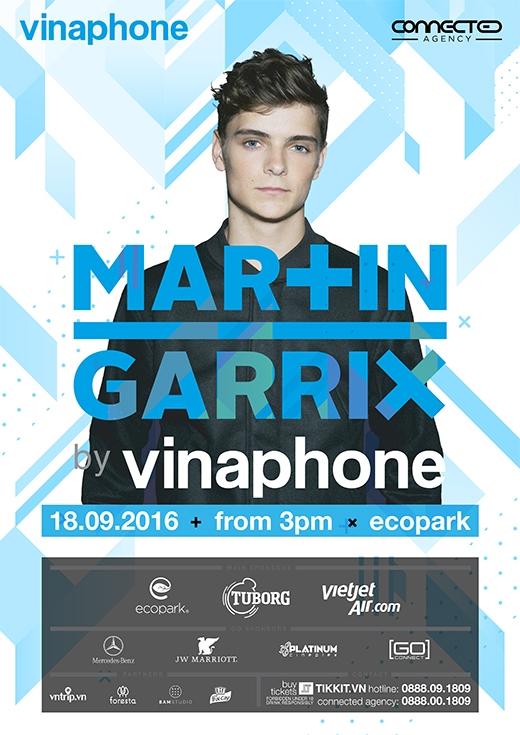 Đêm nhạc của thiên tài EDM - Martin Garrix cháy vé sau 24h mở bán