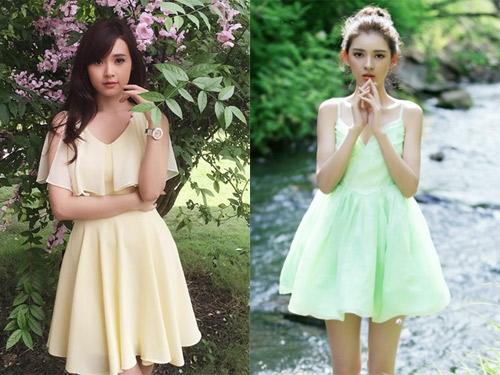 Nhiều cư dân mạng nhận xét Trương Dư Hi có nhiều nét tương đồng với hot girl Midu.