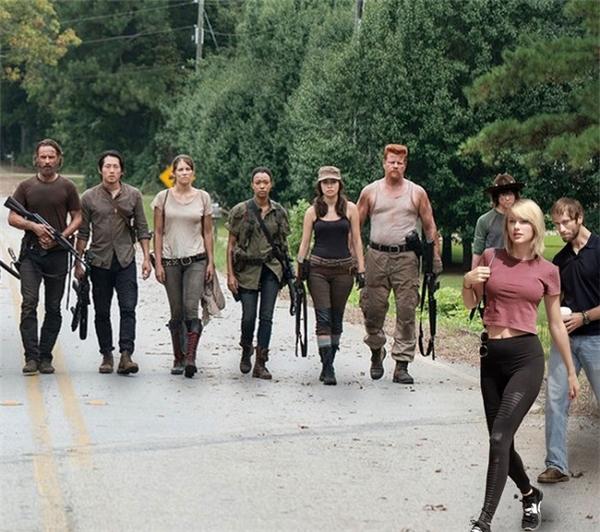 """9. """"Theo chị đi diệt zombie nào!""""."""