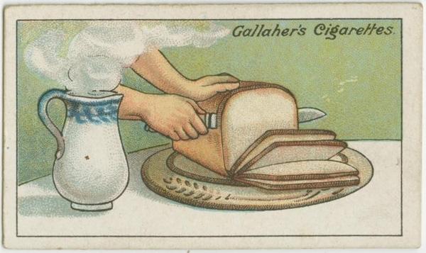 Để cắt bánh mì thành từng lát mỏng, bạn hơ dao trên miệng bình nước nóng, sau đó cắt thật nhanh. (Ảnh: twistedsifter)