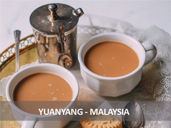 Món cà phê đặc biệt này của người Malaysia khá mạnh, gồm 3 phần cà phê đen và 7 phần trà sữa Hồng Kông. Dù vậy nó lại khá ngon, có thể uống nóng hoặc nguội, kèm hay không kèm theo bánh quy.