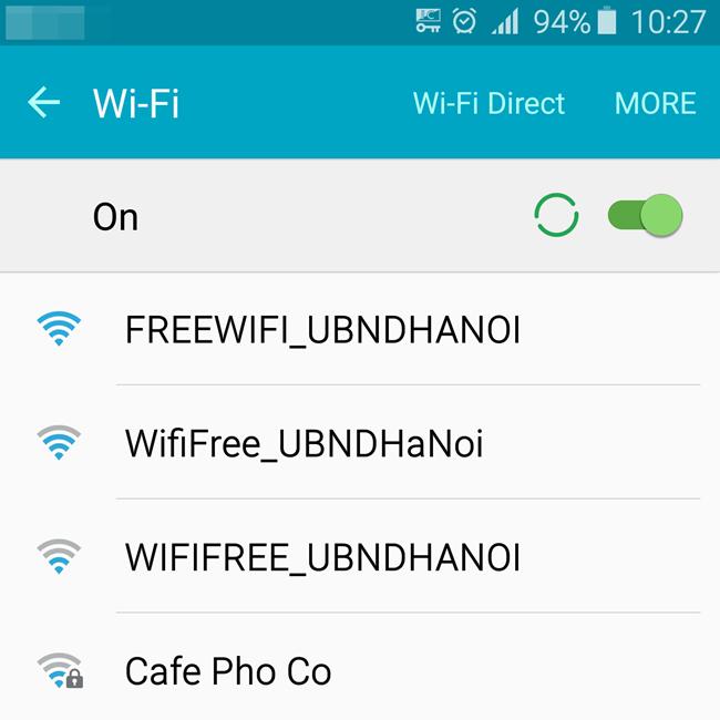 """Người dùng có thể truy cập mạng wifi miễn phí với tên truy cập """"WifiFree_UBNDHANOI"""""""