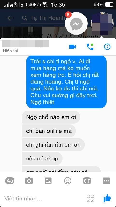 Muốn xỉu với chị bán hàng online khó tính còn hơn cả mẹ chồng