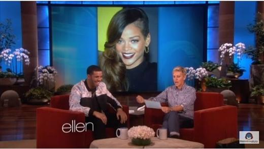 Drake thổ lộ về Riri trong chương trình truyền hình.