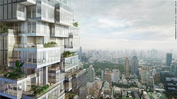 Hiện tại, đã có một số công trình được đưa vào hoạt động như trung tâm thương mại 7 tầng có tên MahaNakhon CUBE và khu không gian mở rộng 1000m vuông.