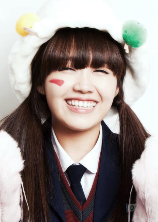 Jung Eunji sở hữu nụ cười và ánh mắt cực hút fans.