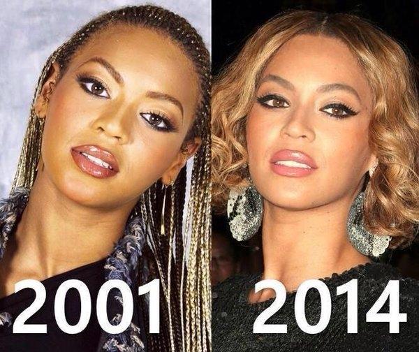Kinh ngạc nhan sắc của Beyoncé 13 năm không hề đổi khác