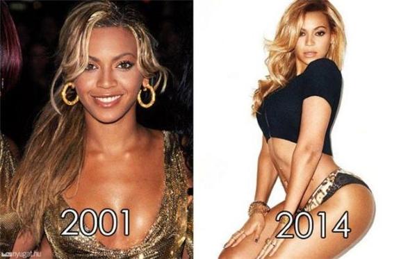 """Những hình ảnh chứng minh nhan sắc """"trẻ mãi không già""""của Beyoncé. Ảnh: Internet."""