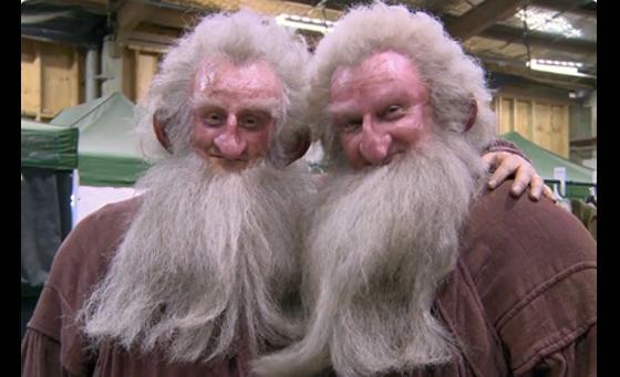 Khó có thể nhận ra ai làKenStott thậttrong phim The Hobbit.