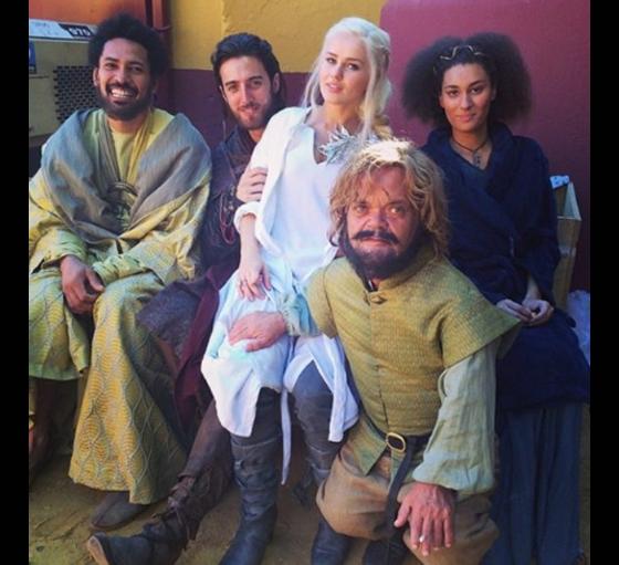"""Diễn viên đóng thế vai """"quỷ lùn""""Tyrion Lannister, mẹ rồngDaenerys Targaryen và một số nhân vật khác trongGame of Thrones."""