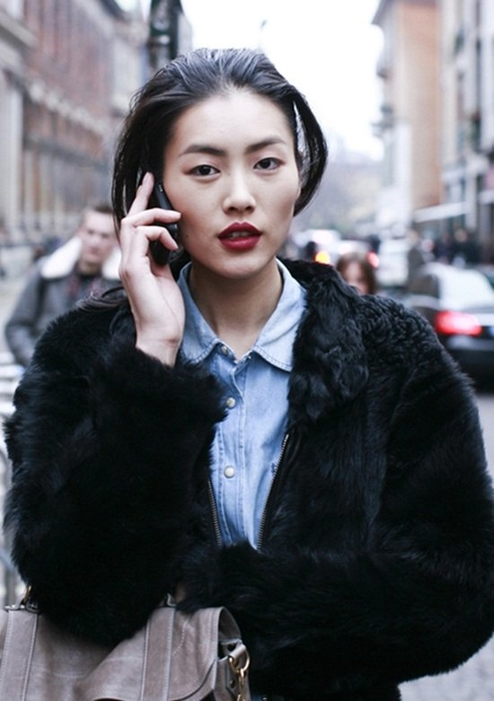 Liu Wen -người mẫu Châu Á duy nhất lọt vào danh sách và trụ vững ở vị trí thứ 9.