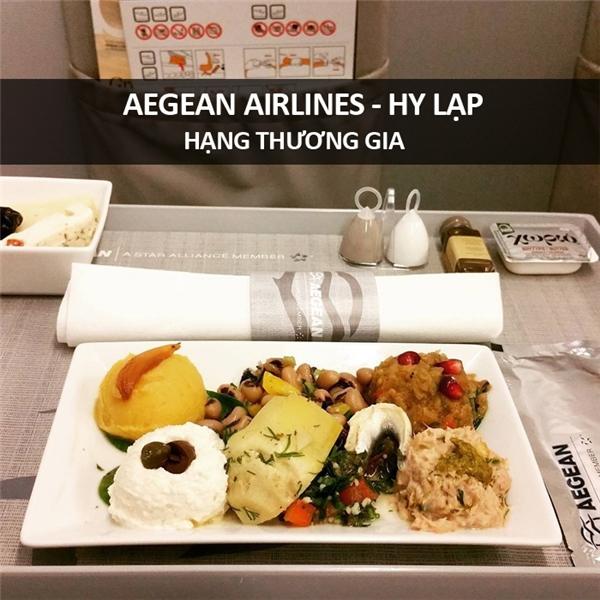 Ăn gì trên chuyến bay của các hãng hàng không thế giới?