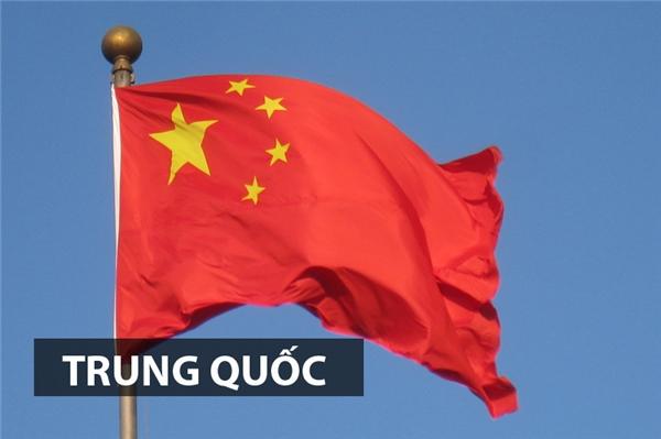 Quốc kỳcủa Trung Quốc còn được gọi là Ngũ tinh hồng kì với bốn ngôi sao nhỏ tượng trưng cho lực lượngcách mạng gồm giai cấp công nhân, nông dân, tiểu tư sàn thành thị và tư sản dân tộcdưới sự lãnh đạo của đảng cộng sản Trung Hoa là ngôi sao lớn.Màu đỏ tượng trưng cho màu củacách mạng.