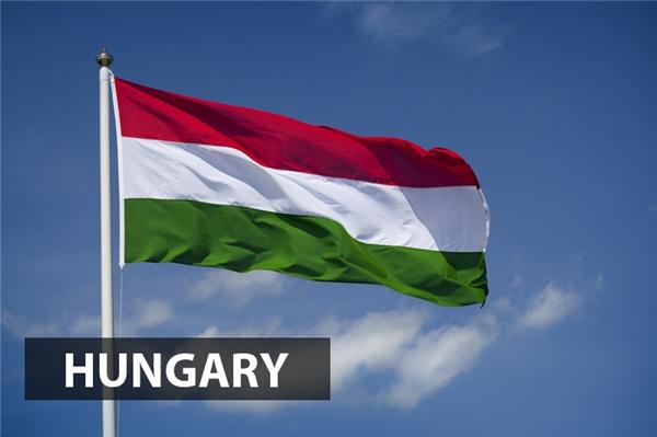 Lá cờ này lần đầu tiên được sử dụng vào năm 1848 và chính thức được công nhận là quốc kỳ của nước Cộng hòa Hungary vào năm 1957.Ba màu đỏ, trắng và xanh của quốc kỳHungary lần lượt biểu tượng cho sức mạnh đoàn kết, lòng trung thành tuyệt đối và hy vọng tươi sáng.