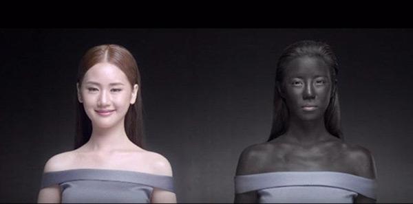 Một ngôi sao Thái Lan cũng từng bị chỉ trích là phân biệt chủng tộc khi đóng quảng cáo da đen.