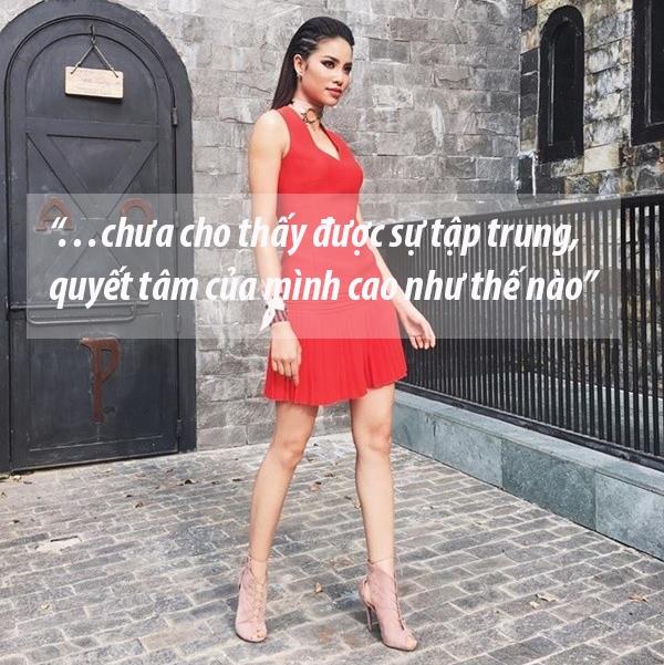 Đây là cách mà Hoa hậu Hoàn vũ Việt Nam 2015 thường nhận xét về các thí sinh.