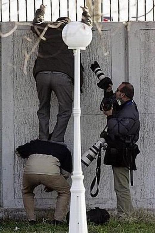 Khi các nhiếp ảnh gia quyết định hợp tác để săn được ảnh nóng