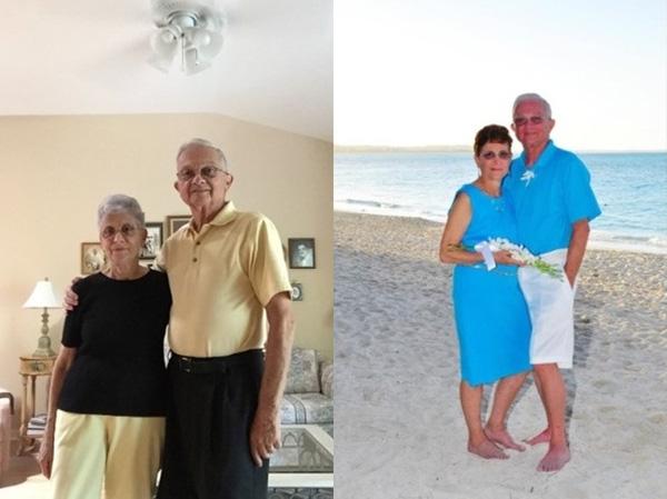 Phát thèm với tình yêu của cặp vợ chồng già thích mặc đồ đôi
