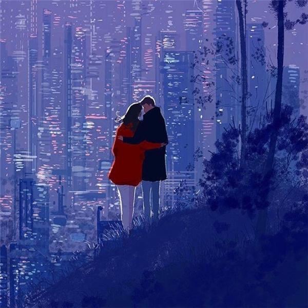 Em và tìm thấy một nơi chốn để làm căn cứ bí mật chỉ thuộc về hai đứa mình để có thể ngắm nhìn toàn cảnh thành phố.
