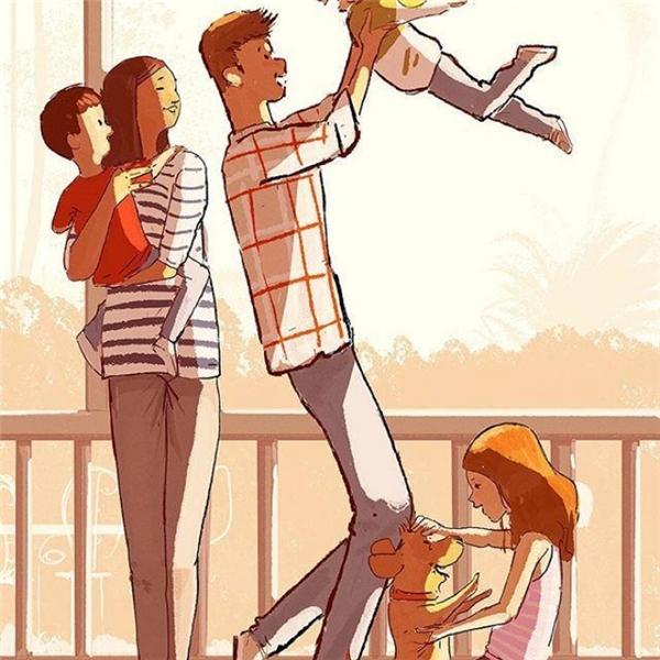 Rồi sẽ có một ngày, chúng ta cũng làm cha làm mẹ, mỗi ngày qua đi trong trách nhiệm và cười vui.