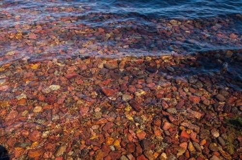 Nước trong vắt,du khách có thể nhìn rõ mọi chi tiết ở đáy hồ với độ sâu hơn 10m.