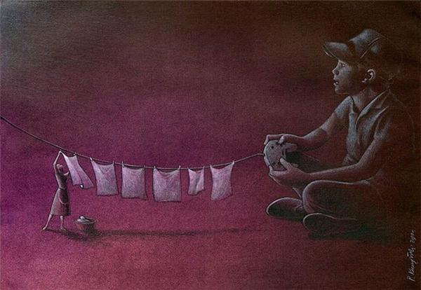 Có những người mẹ một đời còng lưng khổ cực chỉ để phục vụ cho những đứa con lười biếng,mải mê chơi bời, hưởng thụ.