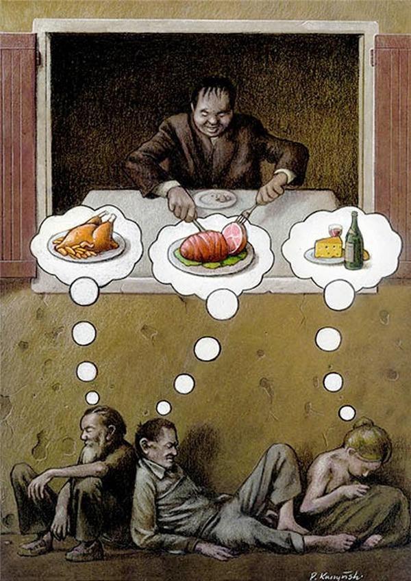 Có những kẻ cả đời chỉ chực ăn trên đầu trên cổ người khác, thậm chí ăn của cả người nghèo đói, ăn cả giấc mơ đói của họ.
