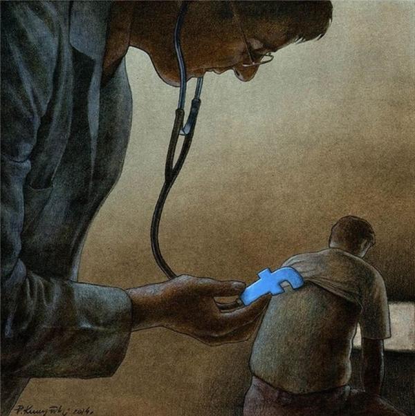 Mạng xã hội hiện đã trở thành một căn bệnh, đồng thời cũng trở thành phương tiện chữa bệnh.
