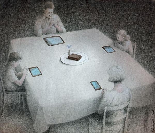 Xin cảm tạ đấng tối cao vì đã ban cho chúng con những chiếc máy thông minh và nguồn sóng wifi thật mạnh mẽ, amen!