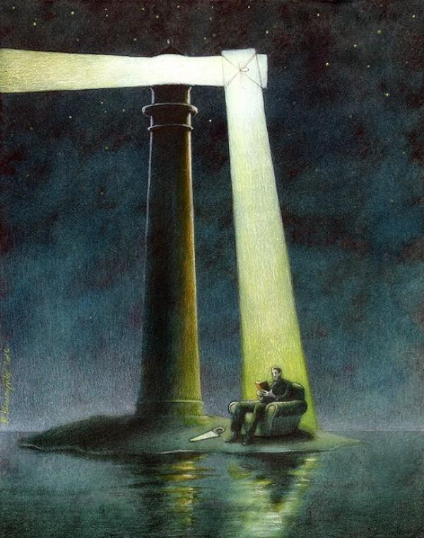 Kiến thức chính là nguồn sáng đưa đường dẫn lối con người thoát khỏi ốc đảo của sự tăm tối, u mê, đồng thời nó còn đem ánh sáng văn minh đến cho nhân loại.