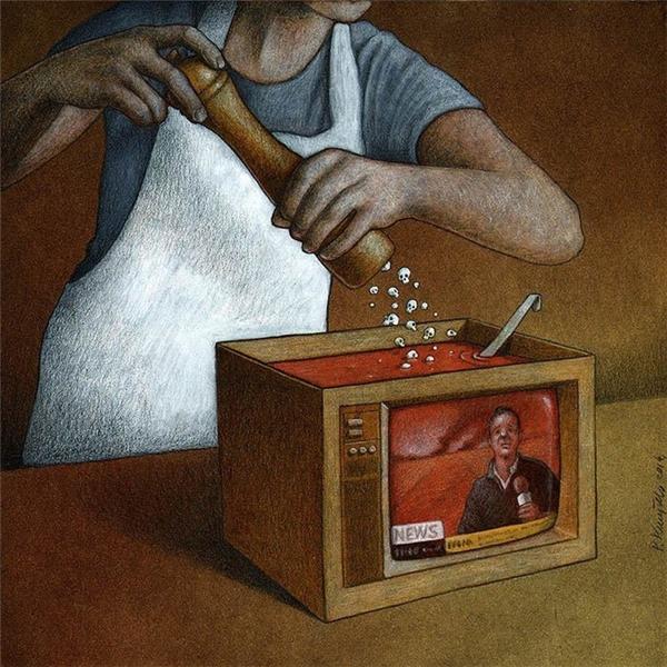 Truyền hình là liều thuốc độc mà chúng ta vẫn vui vẻ thưởng thức mỗi ngày.