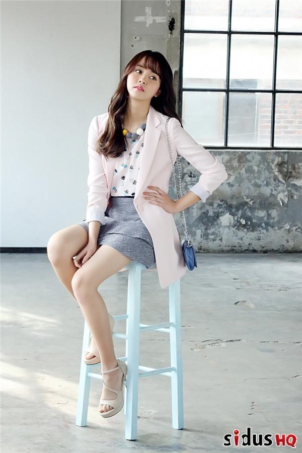 Ganh tị vẻ ngoài khiến mọi người điên đảo của Kim So Hyun