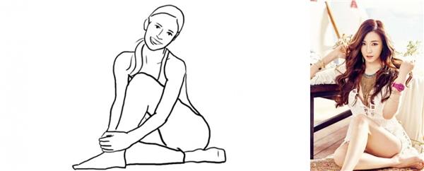 14. Một cách tạo dáng cho đôi chân thêm nuột nà.