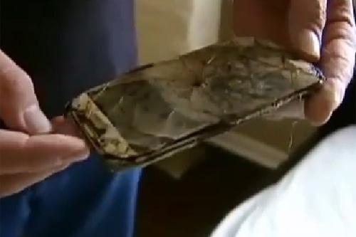 Hiện tượng thoát nhiệt cũng khiến smartphone phát nổ. (Ảnh: internet)