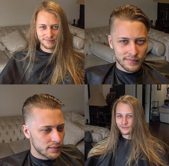 """Liệu ai có thể mường tượng được rằng chàng trai điệu đà với suối tóc thướt tha này có thể manly và """"chất chơi"""" đến như vậy?"""