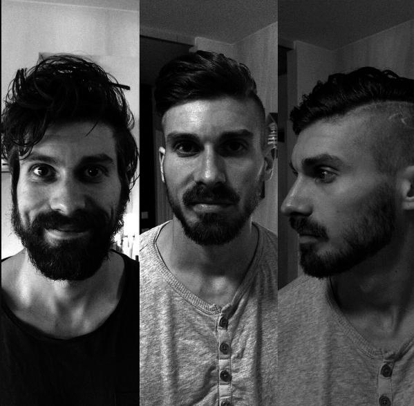"""Nhìn lại bức ảnh này của mình, hẳn chàng trai trong ảnh sẽ càng thêm """"khắc cốt ghi tâm"""" tầm quan trọng của mái tóc và bộ râu gọn gàng."""