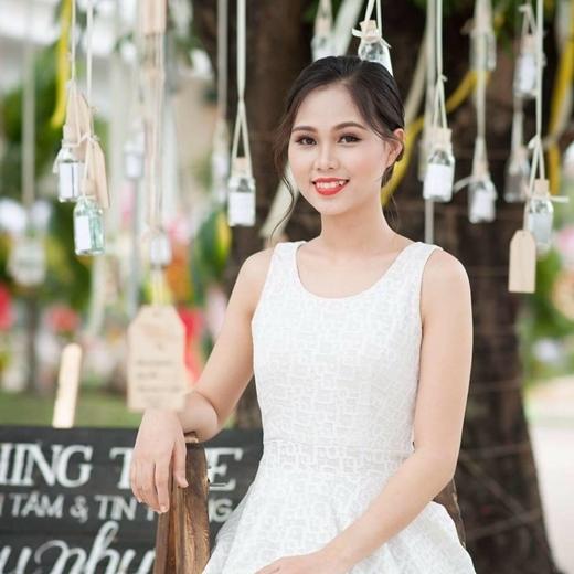 Phương Thảotừng đoạt ngôi vị hoa khôi cuộc thi Nữ sinh Việt Nam duyên dáng 2014.