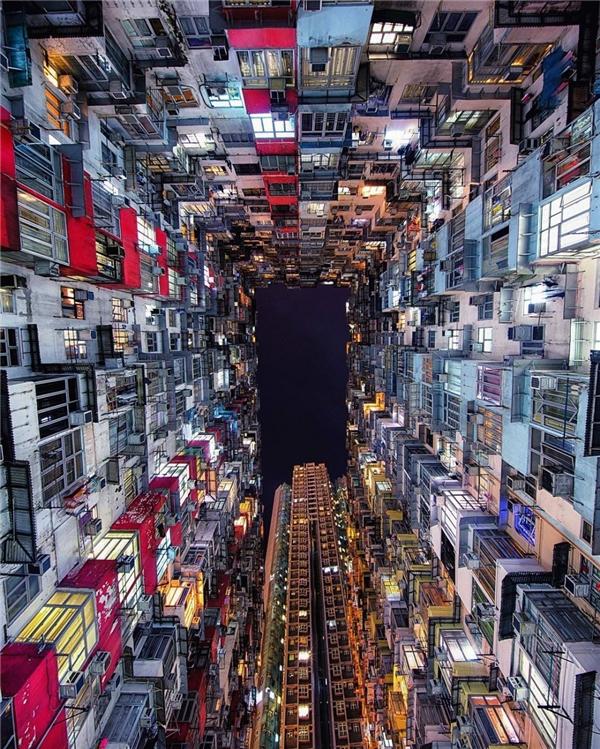"""""""Thế giới game ảo"""" này thực ra là góc nhìn của một người đang trông từ dưới lên."""